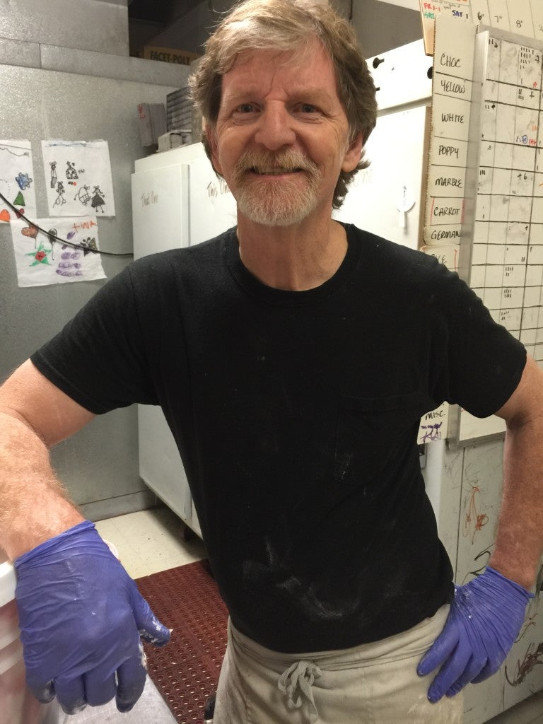 'I thought the two guys came into my store because they wanted a really good cake,' Jack Phillips says of the gay couple that began the legal case against him. (Photo courtesy Masterpiece Cakeshop)