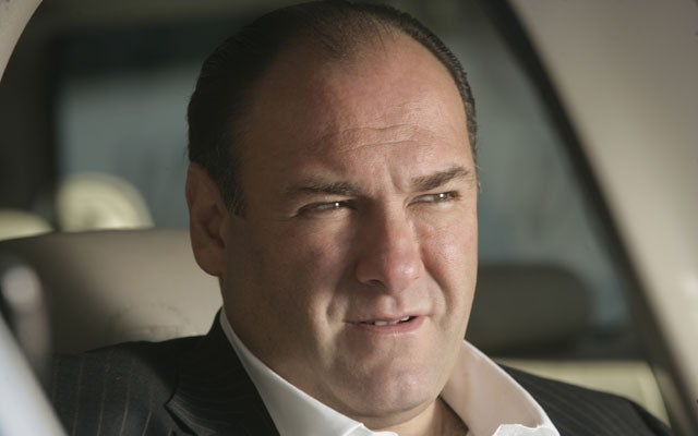 James Gandolfini, star of HBO's ''The Sopranos' (HBO/ZUMA Press/Newscom)