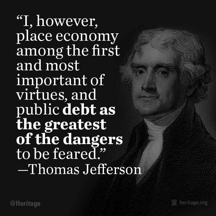 Thomas Jefferson on Debt