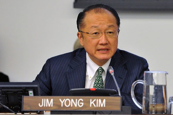 Jim Yong Kim, President of the World Bank. (Photo: EPA)