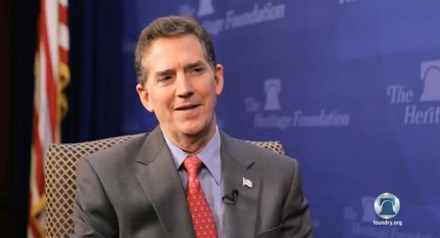 Senator Jim DeMint, President-Elect of The Heritage Foundation