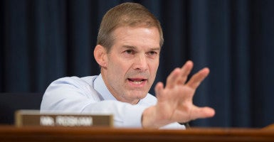 Chairman of the House Freedom Caucus Jim Jordan, R-Ohio. (Photo: EPA/Michael Reynolds/Newscom)