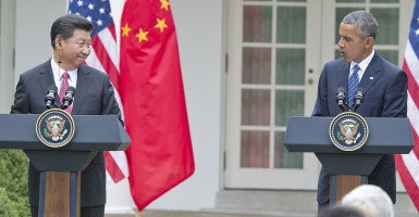 Why aren't we responding more to China's acts of aggression? (Photo: Ron Sachs/CNP/AdMedia/SIPA/Newscom)