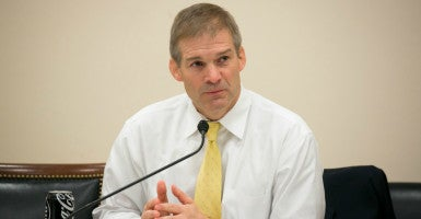 "Rep. Jim Jordan, R-Ohio, believes that conservatives should have the chance to put forth controversial amendments attached to spending bills if the House moves on the ""regular order"" appropriations process this year. (Photo: Paul Morse for The Daily Signal)"