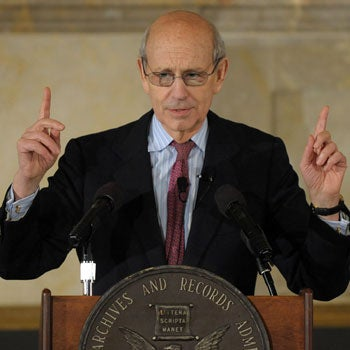 Supreme Court Justice Stephen Breyer