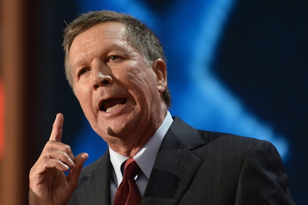 Ohio Governor John Kasich (Photo: Justin Lane/Newscom)