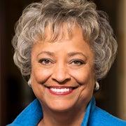 Portrait of Kay Coles James
