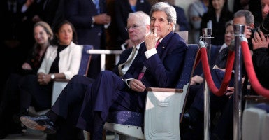 """Secretary of State John Kerry declared Thursday that ISIS is """"genocidal by self-proclamation, by ideology and by actions."""" (Photo: Chip Somodevilla/ZUMA Press/Newscom)"""