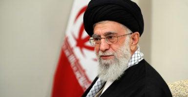 Iran's leadership Ayatollah Khameini Qassim Suleimani