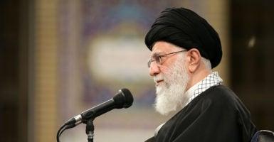 Iran regime change Ayatollah Khamenei