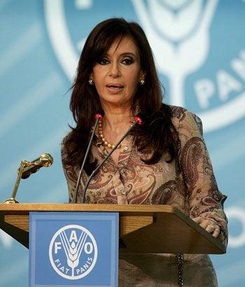 Christina Fernandez de Kirchner
