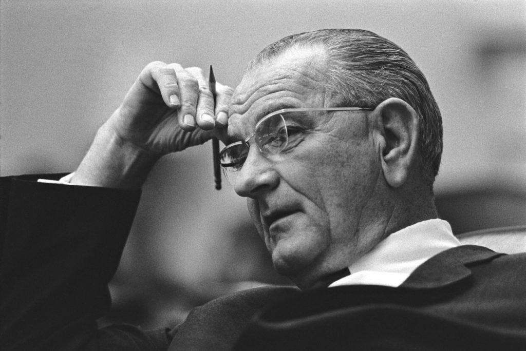 The Johnson Amendment was named after then-Sen. Lyndon B. Johnson. (Photo: Yoichi Okamoto/ZUMA Press/Newscom)