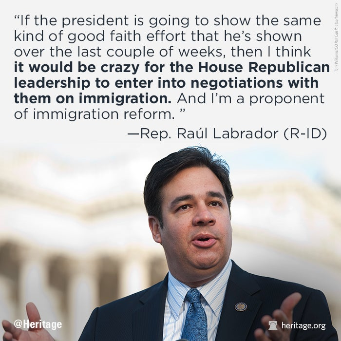 Last News On Immigration Reform: Republicans Would Be Crazy To Negotiate Immigration Reform