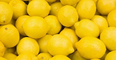 Lemon prices in the U.S. are expected to drop by 2 percent in light of the Department of Agriculture's decision to lift a ban on Argentine lemon imports. (Photo: iStock Photos)
