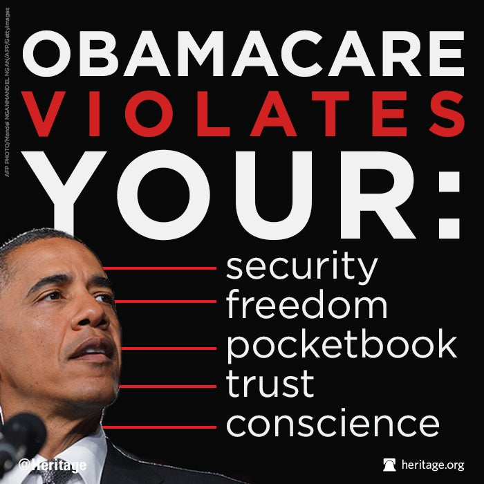 Obamacare Violates Your...