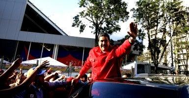Venezuela's President Nicolas Maduro (Photo: Carlos Garcia Rawlins / Newscom)