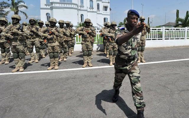 Malí, fuerzas africanas de coalición