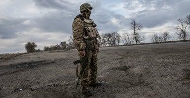 Life in Mariupol, Ukraine has been transformed by war. (Photo: Tommy Trenchard/Polaris/Newscom)