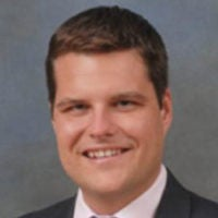Portrait of Rep. Matt Gaetz
