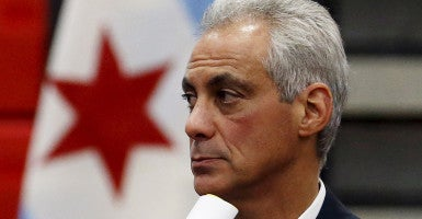 Chicago Mayor Rahm Emanuel (Photo: Reuters/Jim Young/Newscom)