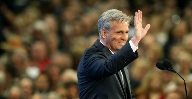 "House Majority Leader Kevin McCarthy, who is running for speaker, vowed to ""heal the divisions in our conference."" (Photo: Newscom)"