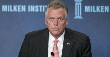 What is Gov. Terry McAuliffe thinking? (Photo: JavierRojas/ZumaPress/Newscom)