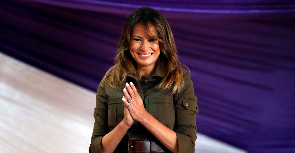 24 Photos of First Lady Melania Trump's Visit to Africa
