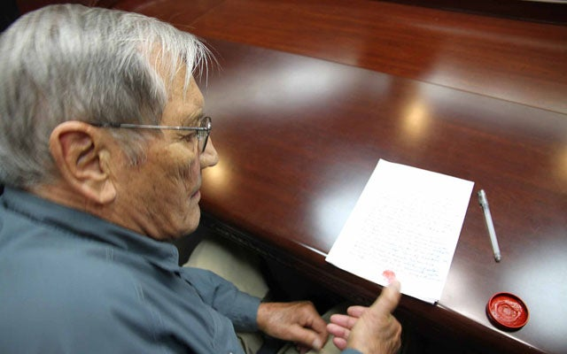 US citizen Merrill Newman (KCNA/AFP/Getty Images/Newscom)