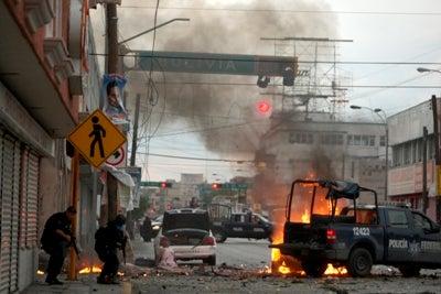 Mexico car bomb
