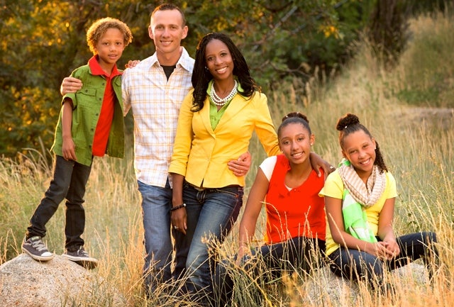 Mia Love and her husband Jason met while he was doing missions work (Photo: Love for Utah)