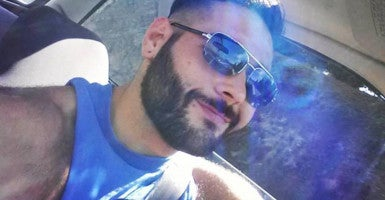 Chris Mintz in a picture from his Facebook page. (Photo: Chris Mintz/Facebook)