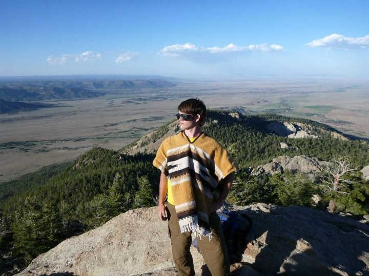 The author, Joshua Gill, summits the Tooth of Time at Philmont Scout Ranch in Cimarron, New Mexico. (Photo courtesy of Joshua Gill)