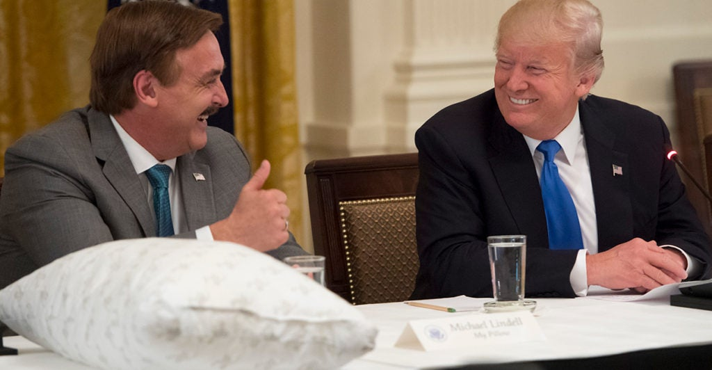 For Mike Lindell The Battle Against Covid 19 Is No Pillow Fight