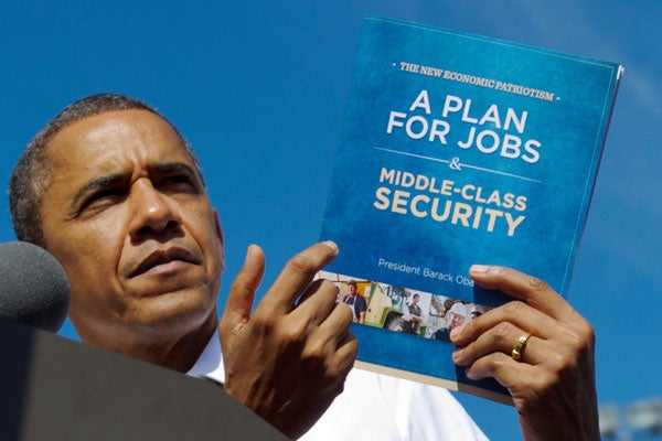 Obama and New Economic Patriotism plan