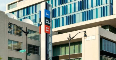 This year, the Corporation for Public Broadcasting, which funds NPR and other media entities, is receiving $445 million of taxpayer money. (Photo: John Greim John Greim Photography/Newscom)