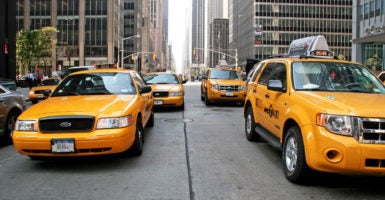 New York Taxis Want to Kick Out Uber and Lyft  They Should
