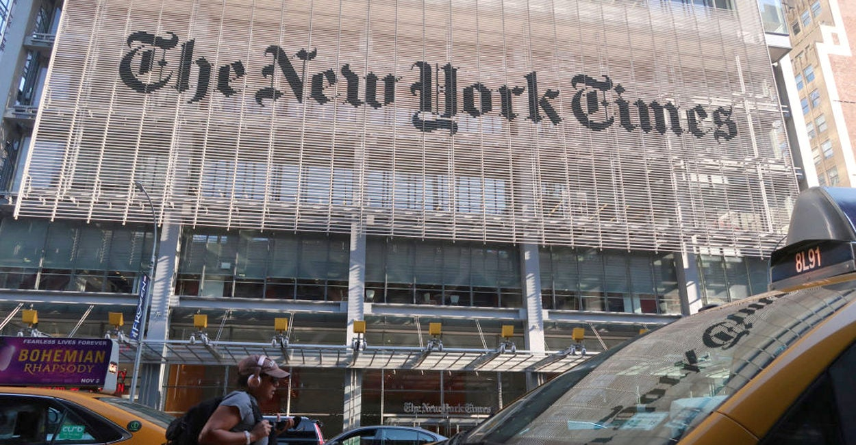 New York Times May Have Broken Law by Publishing Trump's Tax Returns
