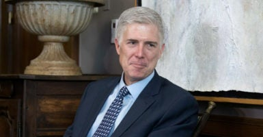 Judge Neil Gorsuch's past statements reflect a sharp skepticism of the government's ever-increasing expansion of criminal liability—a skepticism that also characterized Justice Antonin Scalia. (Photo: Shawn Thew/EPA/Newscom)