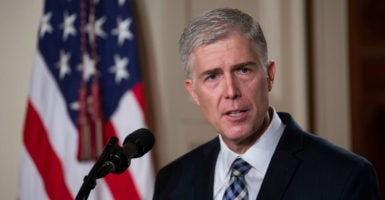 "Judge Neil Gorsuch has been critical of the ""Chevron"" doctrine, a judicial principle developed in the 1980s that Gorsuch says divests the courts of their obligation to ""say what the law is."" (Photo: Cheriss May/NurPhoto/Sipa USA/Newscom  )"