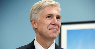 Neil Gorsuch has dutifully applied the text of the Constitution and the Religious Freedom Restoration Act to key religious liberty cases. (Photo: Michael Reynolds/EPA/Newscom)