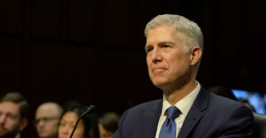 In two key cases, Judge Neil Gorsuch found suitable compromises between religious liberty interests and the aims of government mandates. (Photo: Christy Bowe/Polaris/Newscom)