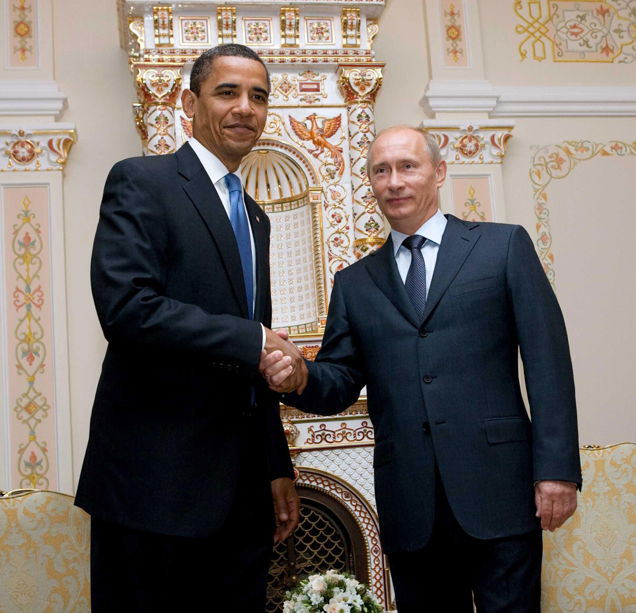 President Barack Obama and Russian Prime Minister Vladimir Putin