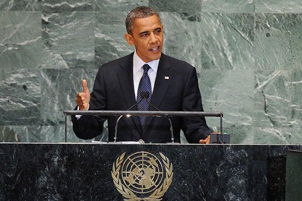 Obama at the U.N., 9/25/12