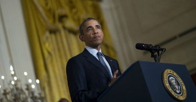 """Americans have plenty to be skeptical about when it comes to the Iran deal. "" (Photo:KEVIN DIETSCH/UPI/Newscom)"