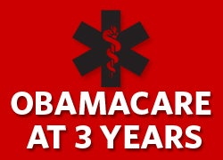 Obamacare at 3 years