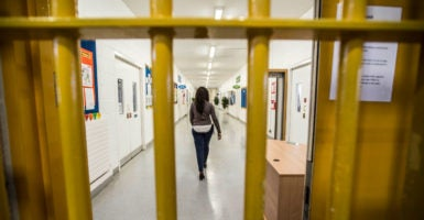 Oklahoma incarcerates more women per capita than any other state, at a rate of 142 per 100,000. (Photo: Richard Pohle/Newscom)