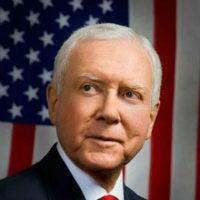 Portrait of Sen. Orrin Hatch