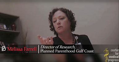 Undercover investigators meet with officials at Planned Parenthood Gulf Coast in Houston to discuss a potential partnership to harvest fetal organs. (Photo: CPM)