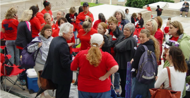 Teacher unions in Louisiana are among those fighting 'pauroll protection' measures. (Photo: Louisiana Federation of Teachers and School Employees Facebook)
