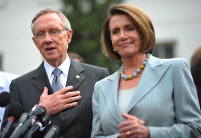 Sen. Harry Reid and Speaker Nancy Pelosi